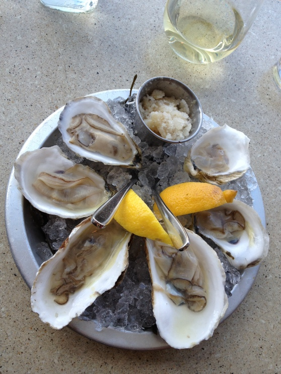 Maine Oysters: West Point Selects, Bagaduces, North Havens